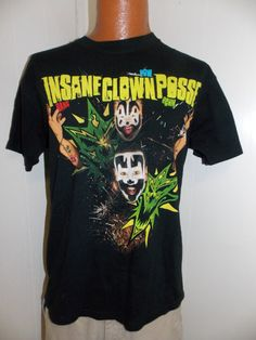 ICP Insane Clown Posse Pow Adult T Shirt by PfantasticPfindsToo