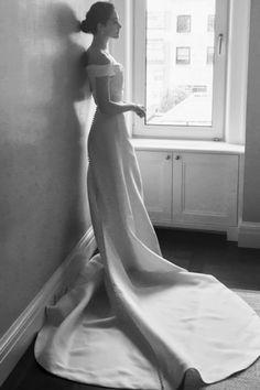 Emmy Rossum's Carolina Herrera Wedding Dress Was Every Bit as Stunning as We Pictured It'd Be