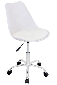 ofc office furniture. petal office chair in white, ofc-ptl-w-w by lumisource | bizchair. ofc furniture