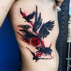 46 Trash Polka Tattoo Ideas of