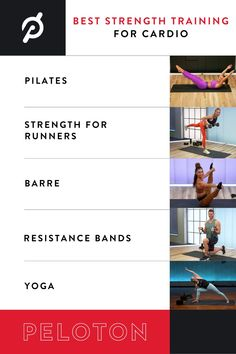 Become a better cyclist or runner with these Peloton Strength classes. Strength For Runners, Cardio Pilates, Exercises, Workouts, How To Become, How To Get, Strength Training, Advice, Fitness
