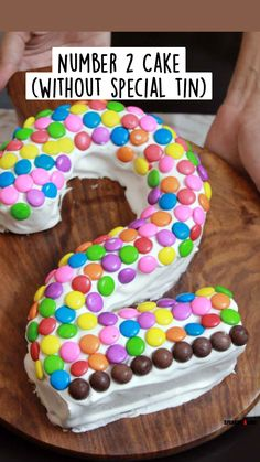 Sponge Cake Recipes, Pound Cake Recipes, Number 2 Cakes, Cake Receipe, 2 Birthday Cake, Birthday Ideas, Canned Frosting, Vanilla Sponge Cake, Square Cakes