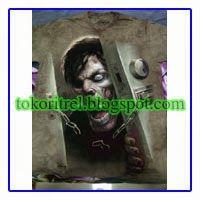Kaos 3D Zombie at The Door FF00355 -http://tokoritrel.blogspot.com/2013/09/kaos-3d-zombie-at-door-ff00355.html#.Uj5kitKBlII