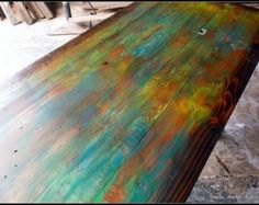 Custom Multi Color Reclaimed Pallet Wood Side By HappyHomeAustin