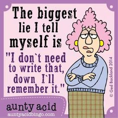 Yep. And I fall for that lie myself all of the time. Go figure. Lol