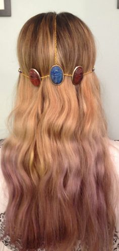 egyptian crown- summer wear with shorts and a tee  $26  https://www.etsy.com/listing/103514733/egyptian-crown-hair-jewelry
