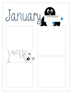 Original fancy monthly classroom newsletter template mctoom. Com.
