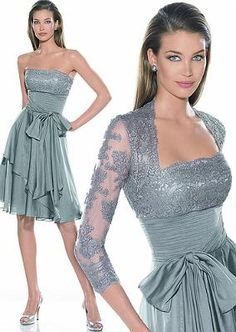 Vestido para una celebración cuando el código del vestido sea tipo cóctel.
