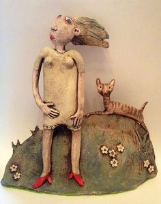 Ceramic works by Sarah Saunders - ego-alterego.com