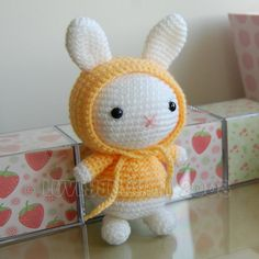 Bunny Gurumi Crochet Pattern von LuvlyGurumi auf Etsy