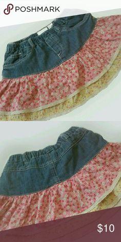 Children's Place Skirt Cute, cute skirt for spring/summer fun. Children's Place Bottoms Skirts