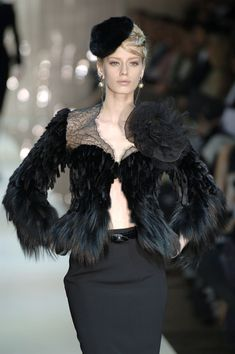 Armani Privé, oh how I hope that is not real fur, cause I love it.