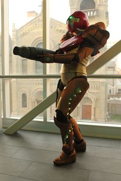 Picture of Samus (Metroid Prime) Costume INTRUCTIONS