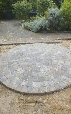 Stone Circle Patio/garden Decorative Stone