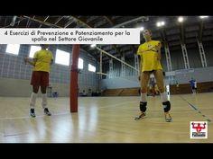 4 Esercizi di Prevenzione e Potenziamento per la spalla nel Settore Giovanile - YouTube