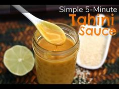 96 Awesome Easy Tahini Recipe, Easy Tahini Free Hummus Kim S Cravings, Spice Up Dinner with these 3 Easy Tahini Sauces, Tahini Recipe Allrecipes, Simple 5 Minute Tahini Sauce. Tahini Recipe, Tahini Sauce, Vegan Sauces, Vegan Dishes, Tahini Salad Dressing, Dressing Recipe, Sauce Recipes, Vegan Recipes, Vegan Food