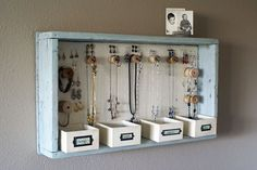 30 Clever Ways to Keep Your Jewelry Organized via Brit + Co.