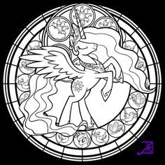 My Little Pony Coloring Pages Princess Luna - http://east-color.com/my-little-pony-coloring-pages-princess-luna/