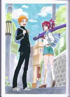 Manga Cosplay Bleach Jet : Les profils de Kazui Kurosaki et Ichika Abarai Bleach Manga, Rukia Bleach, Ichigo E Orihime, Renji Abarai, Bleach Fanart, Shinigami, Bleach Characters, Anime Characters, Me Anime