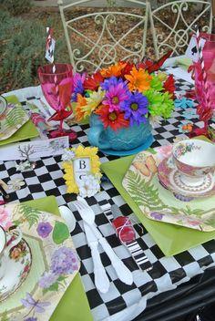 Vintage Alice in Wonderland Tea Party