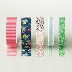 Affectionately Yours Designer Washi Tape by Stampin' Up! You can never have enough washi tape.