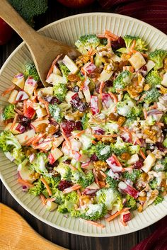Broccoli Apple Salad   - 17 Delicious Salad Recipes That Will Change Your (Lunch) Life