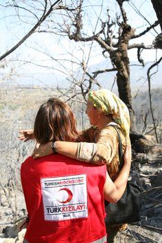 Türk Kızılayı Sosyal Hizmetler-Mersin Orman Yangını