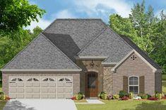 House Plan 9035-00183 - European Plan: 1,723 Square Feet, 3 Bedrooms, 2 Bathrooms