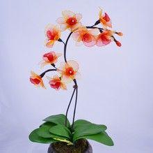 Nylon orchid arrangement Design 4