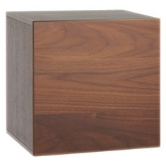 BOCKSEY Small walnut storage box
