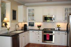 Kitchen - White Subway Tile