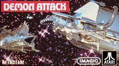 DEMON ATTACK (1982) Atari 2600 - Vidme