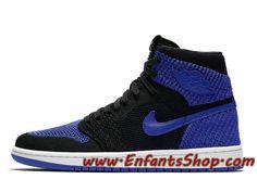 new product 1089c 443fb Air Jordan 1 Retro High Flyknit 919704-006 Chaussures Jordan Officiel Pas  Cher Pour Homme