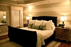 Master Bedroom {A Painted Facelift} -