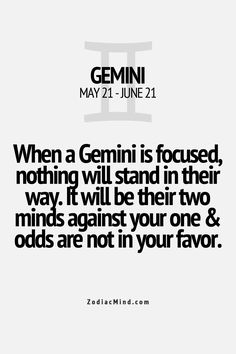 Amazing Zodiac Facts Here - Gemini... So true