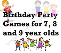 Check out the 10 best Birthday Party Games for 8 and 9 year olds children. Children at 8 and 9 years of age will enjoy playing these birthday games. Kids Party Games Indoor, Boy Party Games, Childrens Party Games, Fun Games, Hat Party, 9 Year Old Girl Birthday, Girls Birthday Party Games, 7th Birthday, Birthday Ideas