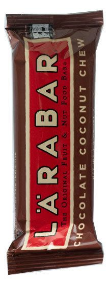 LÄRABAR Chocolate Coconut Chew  These larabar granola bars are awesome! So many different flavors!