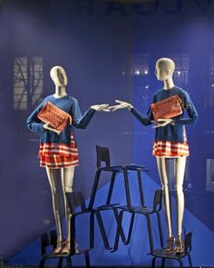 "LOUIS VUITTON, ""Sandra...how do people get through life without a twin sister?"", pinned by Ton van der Veer"