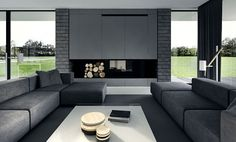 Black Living Room Decorating Ideas