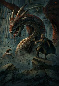 Dragons by Kerem Beyit