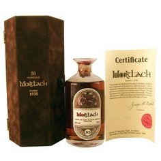 Mortlach 1938 50-year-old with presentation case