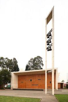 Los Nogales School Chapel in Bogata Columbia by Daniel Bonilla Arquitectos