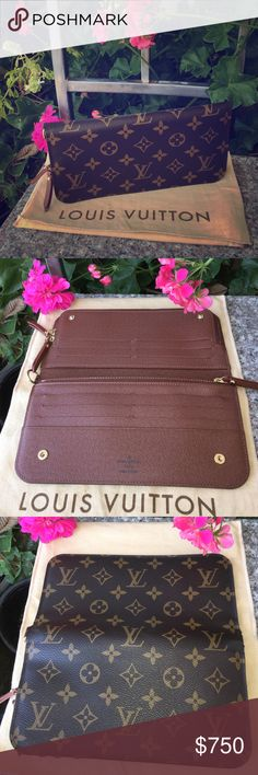LV Monogram Insolite Wallet Brand new! Never used! Code CA2172 Made in Spain! More details going up shortly! Price will be firm  Louis Vuitton Bags Clutches & Wristlets