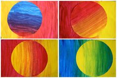 Explore color with this fun and easy project. Hang multiple pieces of artwork together for a stunning display.