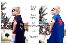 DIY Halloween Costume : DIY Superman or batrman DIY Halloween