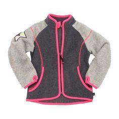 Uma Fleece Jacket/Dark Grey Melange