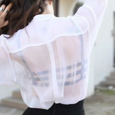 Why is it a style these days to show everyone your bra through your clothes? Contrary to most, it is still trashy!