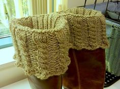 Quick boot toppers Knit Picks Blog