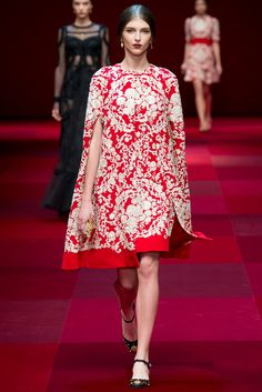 Dolce & Gabbana Spring 2015 Ready-to-Wear Fashion Show - Anastasia Lagune