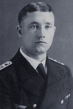 """Stabsobermaschinist Heinrich Dammeier (1914-2001), Obermaschinist auf Unterseeboote """"U 129"""", Ritterkreuz 12.08.1944"""
